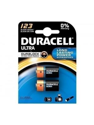 Duracell DL123 Ultra 3V BL2