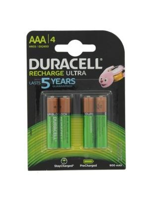Duracell DX2400 AAA 1,2V 800mAh BL4 R2U