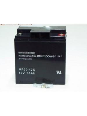 Multipower MP30-12C 12V 30Ah PB 166x125,5x176mm