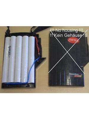 Brill powerpack 24v 1.7Ah NiCD SC/ HP/High Drain