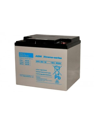 Cellpower CPX50-12 Cycl.accu 12V 50Ah (20hr)