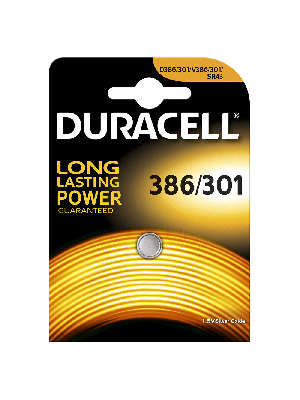 Duracell 386/301 Zilveroxyde