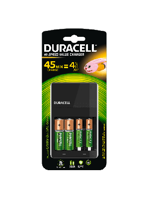 Duracell CEF14 Hi-Speed value charger