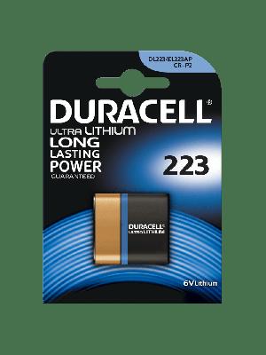 Duracell DL 223 Ultra 6V BL1