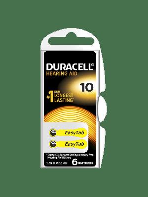 Duracell Easytab 10 90mAh PR70 BL6