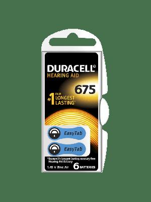 Duracell Easytab 675 600mAh PR44 BL6