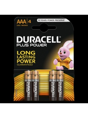 Duracell Plus MN2400 AAA 1.5V  BL4