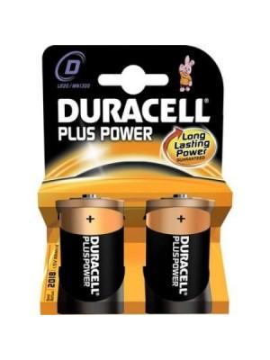 Duracell Plus Power MN1300 D 1.5V BL2
