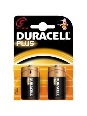 Duracell Plus Power MN1400 C 1.5V  BL2