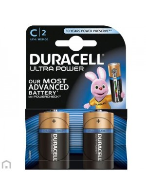 Duracell Ultra-Power MX1400 C 1.5V BL2