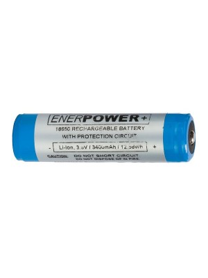 Enerpower 18650 3400mAh 3.6V (protected) Li-on cel