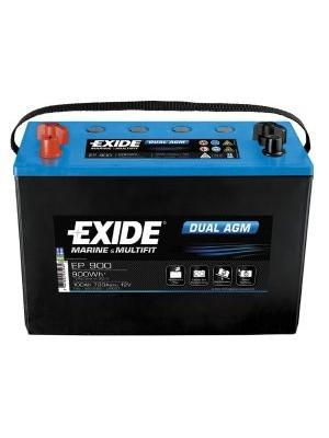 Exide Dual AGM accu EP1200 12V 140Ah 513x189x223mm