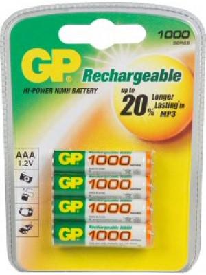 GP100AAAHCC4  NiMh AAA 1.2V 1000mAh BL4