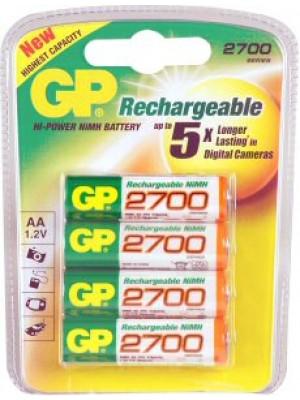GP270AAHCC4 NiMh AA 1.2V 2700mAh BL4