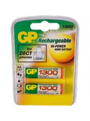 GPD052C2 NiMh AA 1.2V 1300mAh BL2