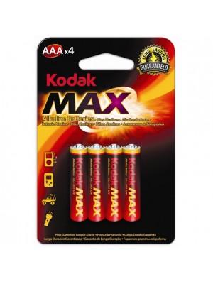 Kodak MAX AAA 1.5V LR03 BL4