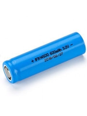 LiFePo4 rechargeable 14500 cel 3,2V 600mAh FlatTop
