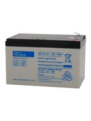 Loodaccu Cellpower CPC12-12 12V 12Ah 150x100x100mm