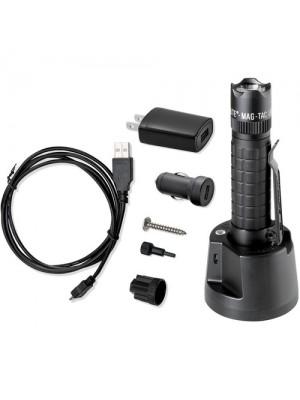 Maglite Mag-Tac rechargeable black TRM4R4L