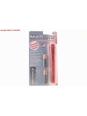 Maglite Minimag Rood 2xAA M2A036 Blister