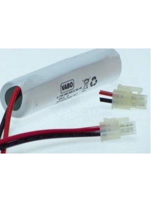 NiCD 2SC HT Stack 2,4V Conn 10977 23x85