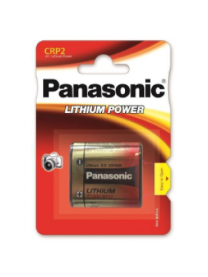 Panasonic CR P2P 6V BL1