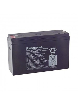 Panasonic LC-R0612P PB 6V 12Ah Faston 187 4.8mm
