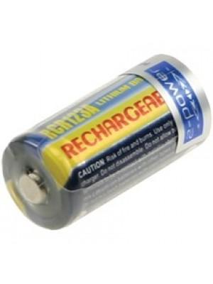 RCR123A rechargeable 3V 500mAh Li-ion