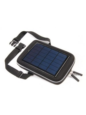 Solar Power Bag Black 7000