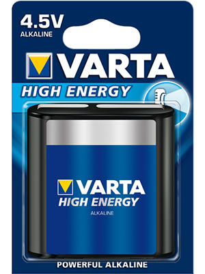 Varta High Energy 4912 4.5V BL1