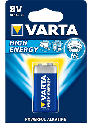 Varta High Energy 4922 9V BL1 550mAh
