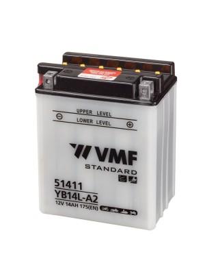 VMF Powersport MF YTX14-BS 134x89x166mm