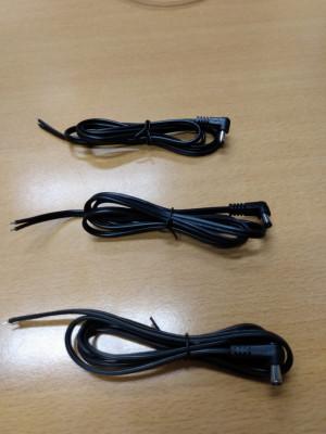 Power kabel DC-2x18AWG 1 meter