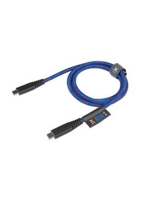Xtorm Solid Blue USB-C tot USB C Pro Cable