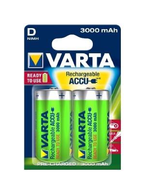 Varta Power Accu & R2U 56720 D 1,2V 3000mAh BL2