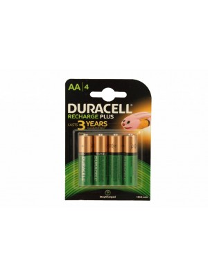 Duracell HR06-AA 1300mAh NiMh BL4