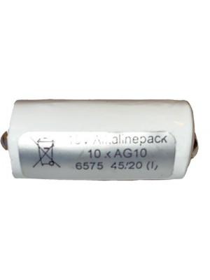 15V Alkaline pack (10xAG10) vervangt V 74PX