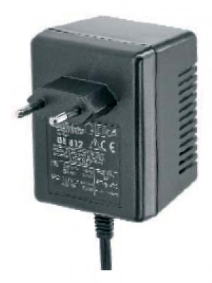 Alpha PB lader plug in  6V 0.6A met Faston 6.35