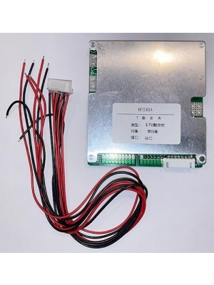 BMS 7S 60A incl wires(8p) 2port 24V Li-ion