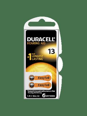 Duracell Easytab 13 290mAh PR48 BL6