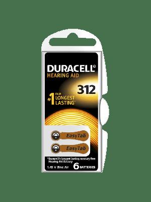 Duracell Easytab 312 150mAh PR41 BL6