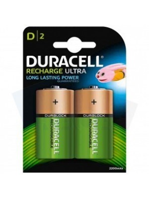 Duracell HR20 D 1.2V 2200mah BL2