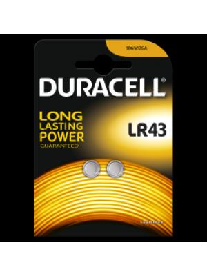 Duracell LR43 1.5V BL2