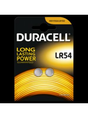 Duracell LR54 1.5V BL2