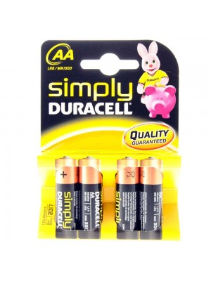 Duracell MN1500 AA Simply BL4