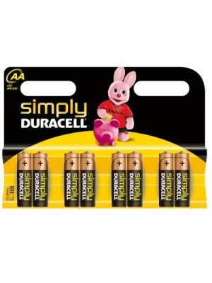 Duracell MN1500/AA Simply BL8