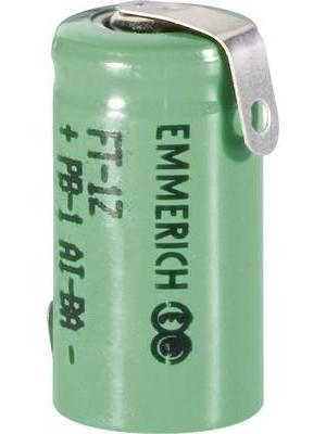 Emmerich NiMh 1/2AAA 1.2V 230mAh met lippen