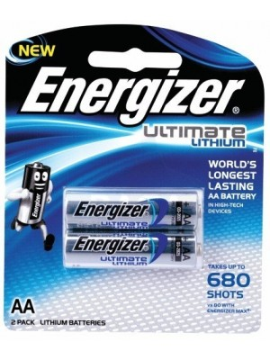 Energizer 2/L91 AA 1.5V Ultimate Lithium BL2