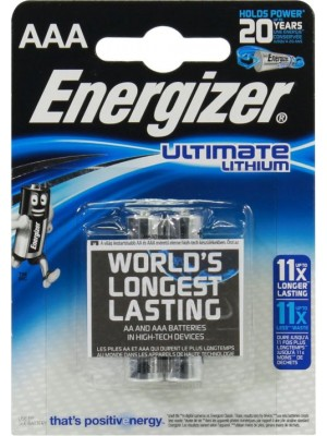Energizer 2/L92 AAA 1.5V Ultimate Lithium BL2