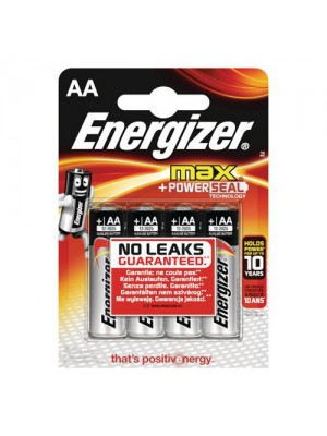 Energizer LR6 MAX AA  BL4